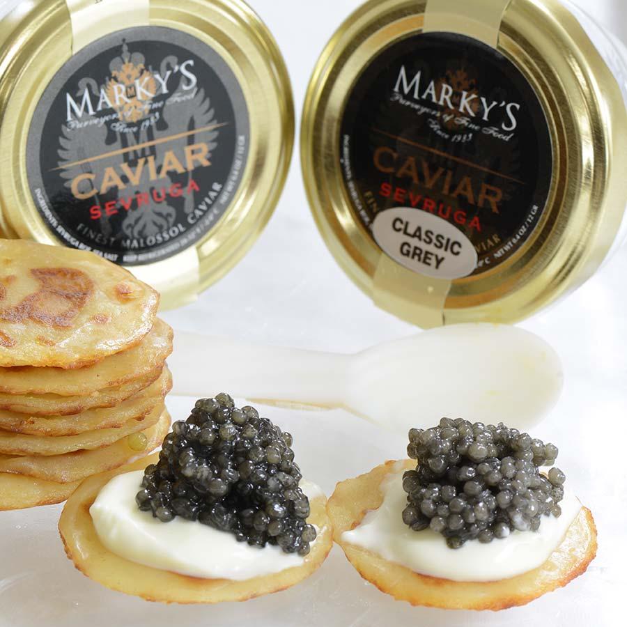 Medium caviar sampler gift set | olma food.
